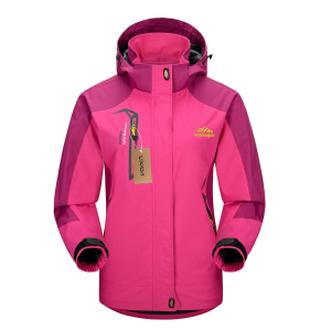 Wasserabweisende Lixada Softshell Jacke in versch. Farben für Damen und Herren nur 19,99 Euro bei Amazon