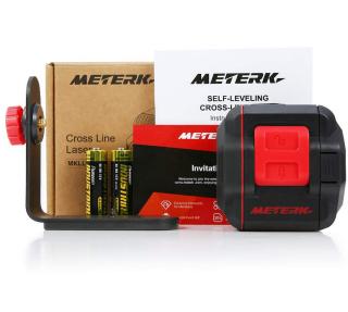 Meterk MKLL01 Kreuzlinienlaser mit 15m Messbereich und Magnetfuß für 27,99 Euro
