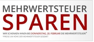 Nur heute und morgen: Mehrwertsteuer geschenkt bei Druckerzubehoer.de & Gratis Taschenlampe
