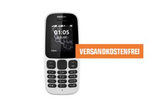 NOKIA 105 Dual SIM Handy, 4 MB für 13,- Euro inkl. Versand