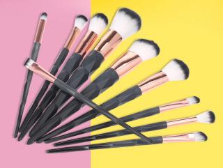 Für die Damen: 10er Set Anself Make-Up Pinsel für 5,49 Euro