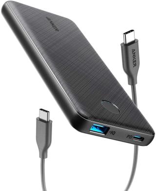 Anker PowerCore Slim PD 10.000 Powerbank mit USB A und USB C für 19,99 Euro