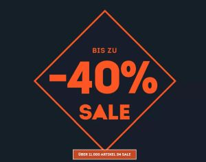 SportScheck Sale mit bis zu 40% Rabatt auf über 13.000 Produkte + 10% Extrarabatt auf das Kindersortiment