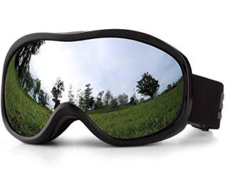 Lixada Skibrille mit Anti-Fog Beschichtung und UV400 Schutz nur 13,49 Euro