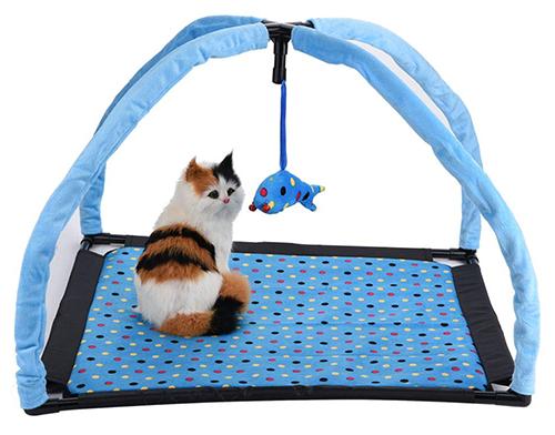 SOULONG Katzendecke mit Spielzeug für nur 6,99 Euro bei Amazon