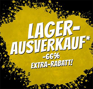 Nur bis 15 Uhr! 66% Extra-Rabatt auf über 600 Artikel im SportSpar Mega-Sale