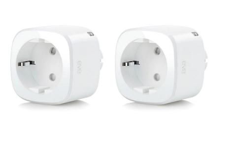 Cyberdeal: Eve Energy Doppelpack smarte Steckdose für nur 39,95€ inkl. Versand