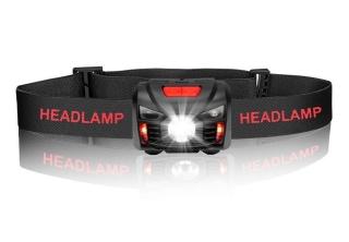 Winzwon LED Stirnlampe mit 1200 mAh Akku für 5,99 Euro statt 11,99 Euro