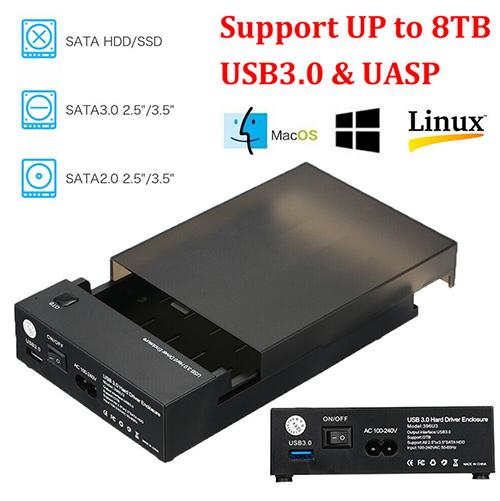 USB 3.0 Festplattengehäuse für 2,5″ oder 3,5″ SATA für nur 14,59 Euro inkl. Versand