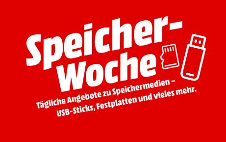 Bis 13.07.: MediaMarkt Speicherwoche mit günstigen Speichermedien