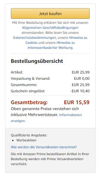 Preis bei Amazon