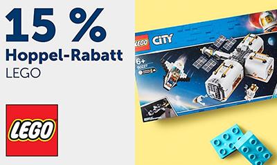 Nur noch heute: 15% Rabatt auf Lego City und Lego Friends bei myToys