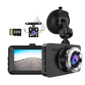 Micoke 1080P Dashcam mit 3″ Display und 170° Weitwinkel für 27,- Euro