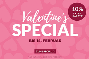Engelhorn Valentinstag Aktion mit 10% Rabatt auf viele ausgewählte Produkte