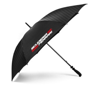 Ferrari Regenschirm in Carbon Schwarz für 27,24 Euro inkl. Versand