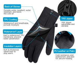 Atmungsaktive Unigear Touchscreen Handschuhe für nur 3,99 Euro bei Amazon