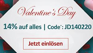 Nur heute: 14% Rabatt auf das gesamte Sortiment bei Jeans-Direct