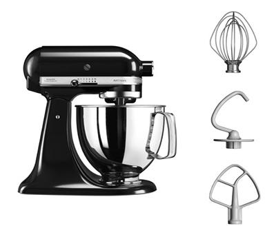 KITCHENAID Bundleicecreamob Eiscreme Set Küchenmaschine + Speiseeismaschine (300 Watt) für nur 429,- Euro inkl. Versand