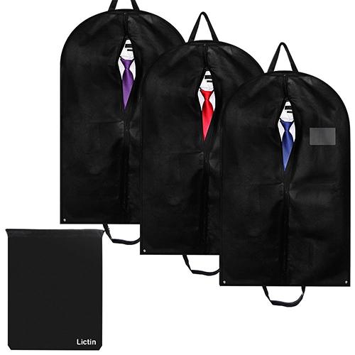 3er-Set Lictin Kleidersäcke mit Schuhbeutel für nur 6,99 Euro bei Amazon
