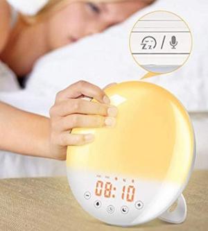 SOLMORE Lichtwecker Wake Up Light mit 9 Wecktönen und Snooze Funktion für 21,44 Euro statt 32,99