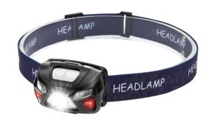 Outerdo LED Stirnlampe mit 1200 mAh Akku für 7,69 Euro