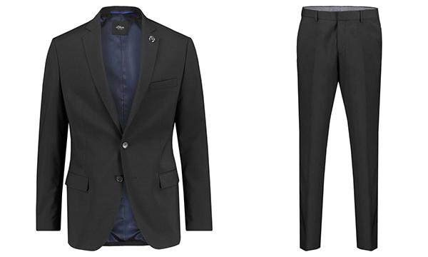 s.Oliver Black Label Herren Anzug für nur 84,91 Euro inkl. Versand