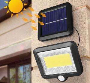 Docooler Solarlampe mit Bewegungsmelder für 12,99 Euro
