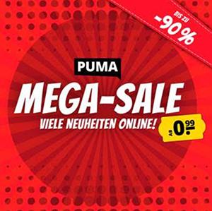 PUMA Mega-Sale bei SportSpar mit bis zu 90% Rabatt