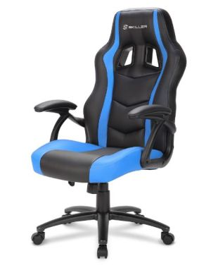 Sharkoon Gamingstuhl Skiller SGS1 (schwarz/blau) für nur 82,99 Euro inkl. Versand