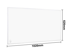 VINGO 800 Watt Infrarot Heizpaneel mit Thermostat für 79,99 Euro