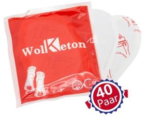 40 Paar Wolketon Fußwärmer-Pads für 19,19 Euro statt 31,99 Euro