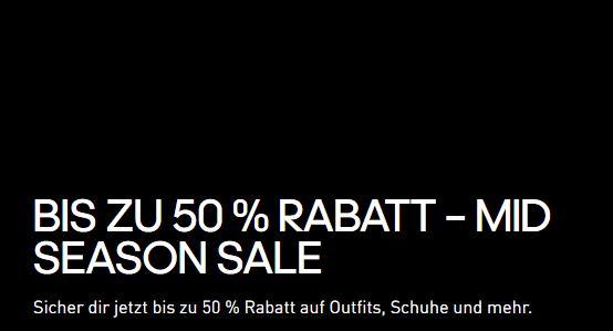 Bis zu 50% Rabatt im großen Adidas Mid Season Sale mit mehr als 3500 Artikeln