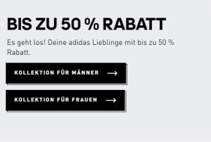 50% Rabatt auf viele Produkte im großen Adidas Sale – über 6.600 Produkte!