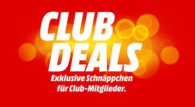 MediaMarkt Club Deals mit Schnäppchen aus dem gesamten Sortiment