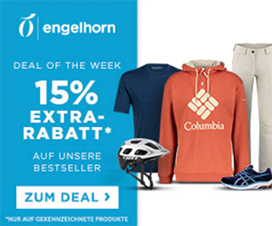 15% Extrarabatt auf Bestseller im Engelhorn Fashion und Sports Shop