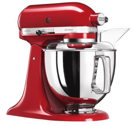 KITCHENAID 5KSM175PSEER Artisan Küchenmaschine (4,8 Liter, 300 Watt) für nur 399,- Euro inkl. Versand (statt 451,- Euro)