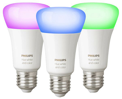 Philips Hue White and Color Ambiance E27 Bluetooth (3er-Set) für nur 86,76 Euro inkl. Versand