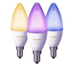 Philips Hue White and Color Ambiance E14 3-er Pack LED Leuchtmittel für nur 99,- Euro inkl. Versand