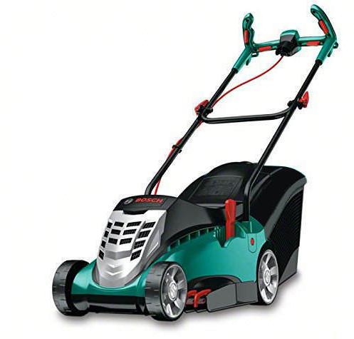 Bosch 43cm Elektro Rasenmäher Rotak 43 (1.800 Watt, 50L Grasfangkorb) für nur 111,- Euro inkl. Versand