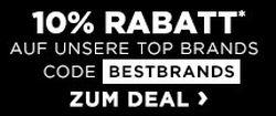 Engelhorn Markenwoche mit 10% Rabattgutschein auf Marken wie Adidas, Nike oder The North Face