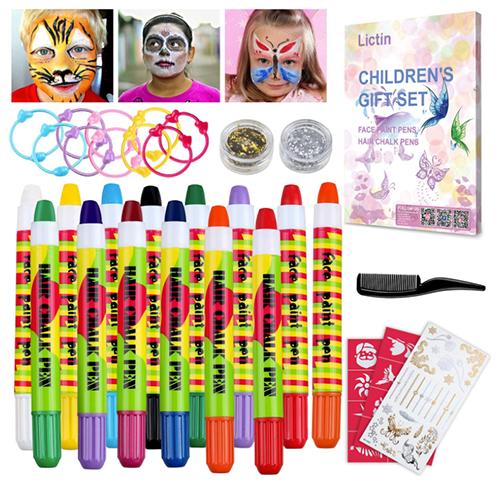 Lictin Kinderschminke Set für nur 7,19 Euro bei Amazon
