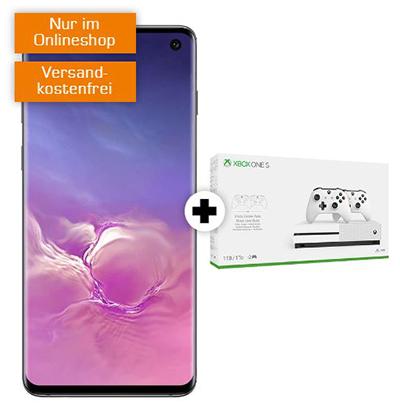 Knaller! MD Vodafone green LTE mit 10 GB Daten für mtl. 24,99 Euro + SAMSUNG Galaxy S10 & Microsoft Xbox One S 1TB mit 2 Controllern für einmalig 49,- Euro
