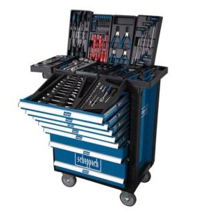 263-teiliger Scheppach Werkstattwagen TW 1000 für 363,90 Euro
