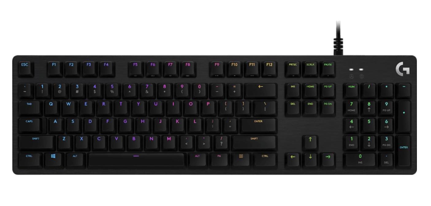 LOGITECH 920-009378 G512 Lightsync Gaming Tastatur für nur 74,25 Euro inkl. Versand