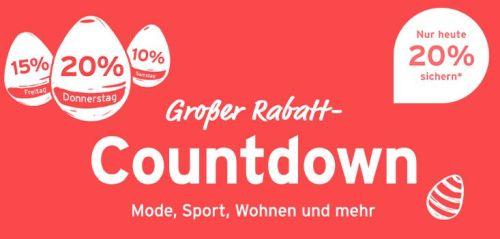 Großer Tchibo Oster-Rabatt-Countdown mit bis zu 20% Rabatt