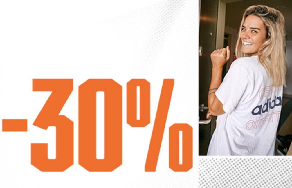 Top! 30% Extrarabatt auf fast alle Adidas Artikel im Adidas Onlineshop