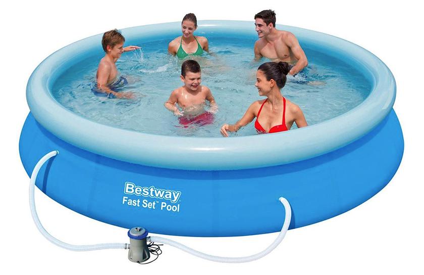 Bestway Mitch Pool Schwimmbeckern (Durchmesser: 366cm / Höhe: 76cm) für nur 55,93€
