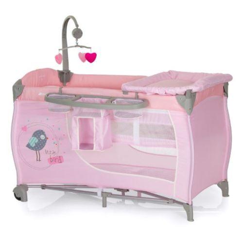 Hauck Reisebett Babycenter (rosa) für nur 79,99 Euro inkl ...