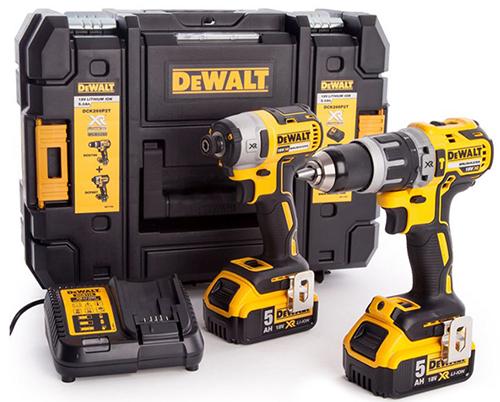 DeWalt Schlagbohr- & Schlagschrauber Set DCK266P2T + 2x 2,5Ah Akkus (18 V, bürstenlos) + Aufbewahrungsbox für nur 328,90€ inkl. Versand