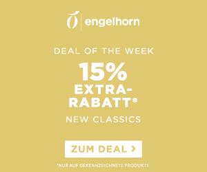 Letzter Tag: Engelhorn Fashion Weekly Deal: 15% Rabatt auf Kleider, Röcke, Chinos, Polos, uvm.